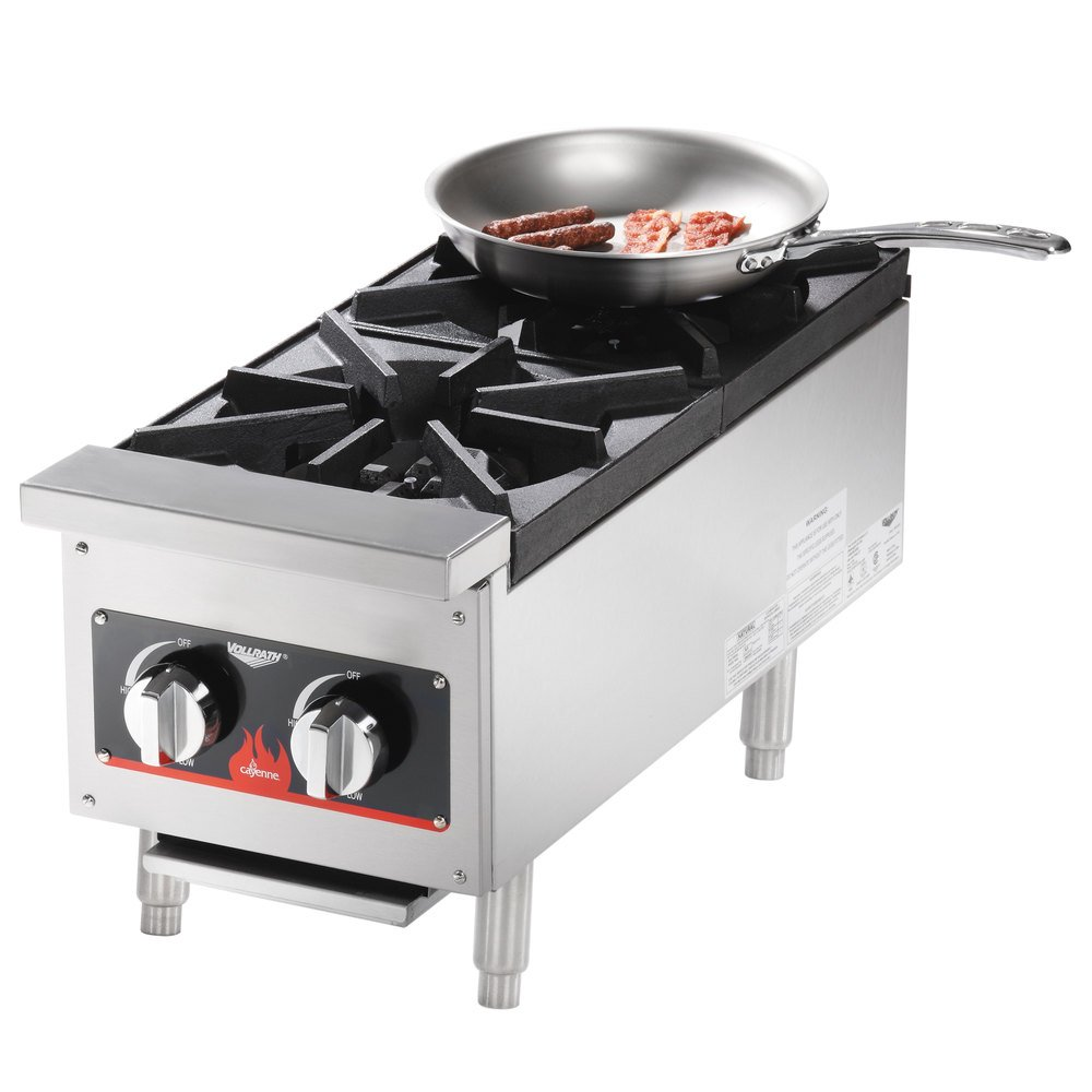 Best Countertop Portable Stove : Vollrath 40736 2 Burner Countertop Range