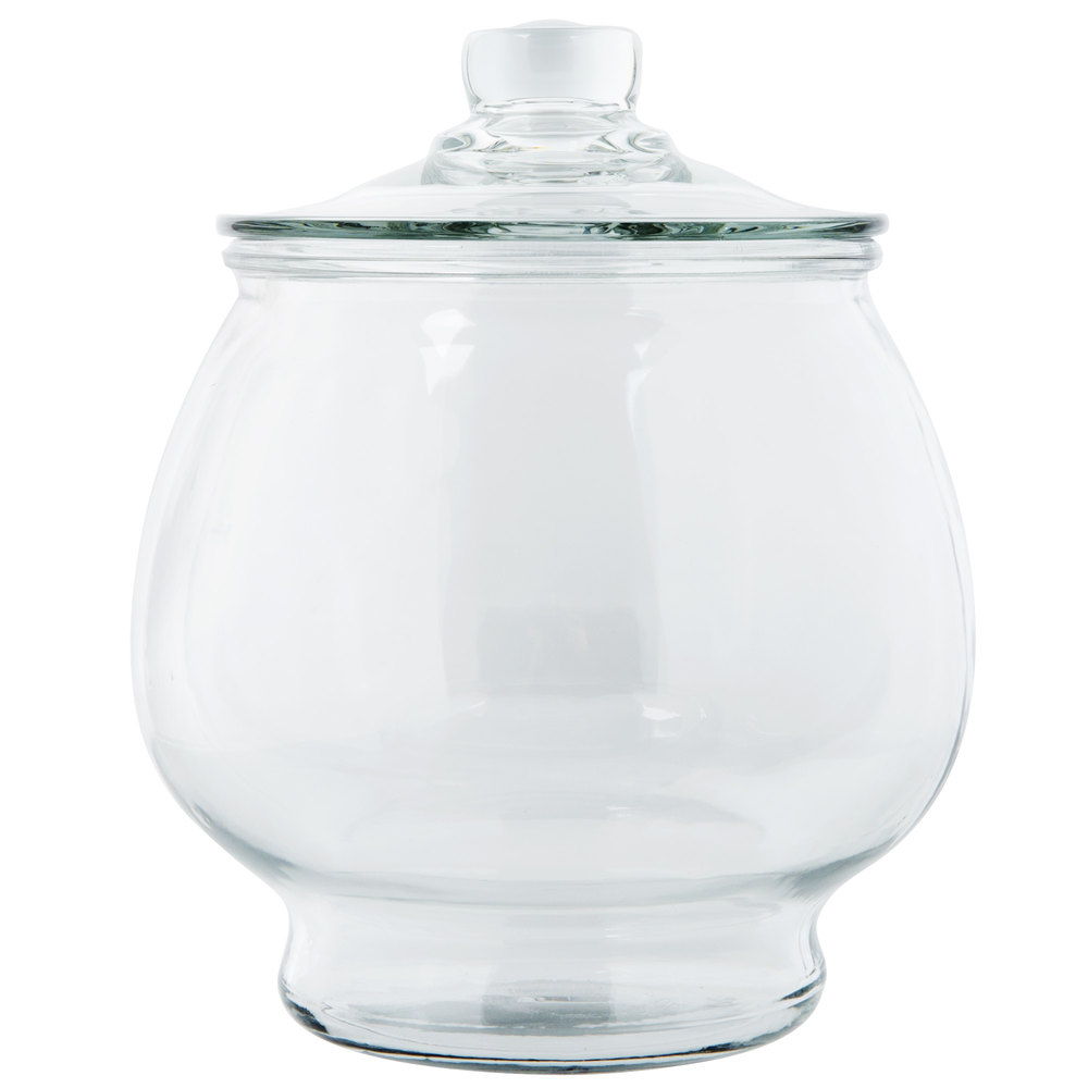 Anchor Hocking 88749r2 1 2 Gallon Glass Jar With Glass Lid
