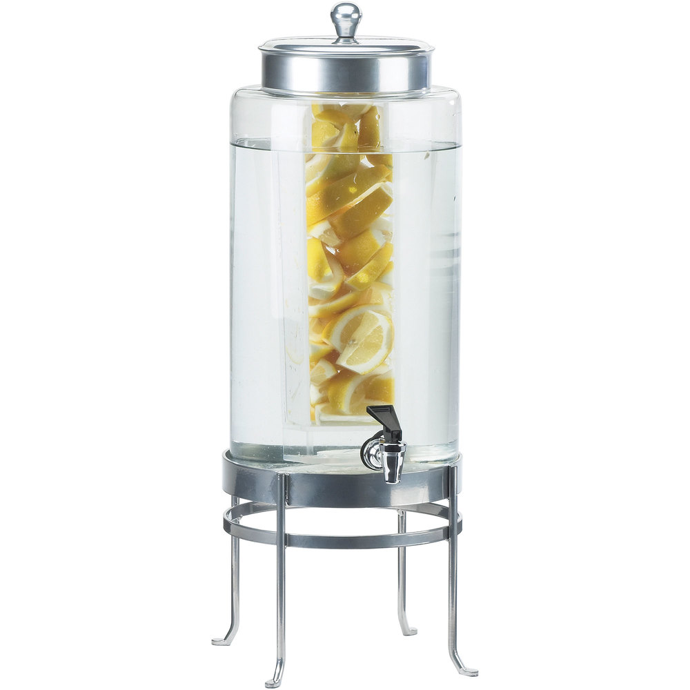 Cal Mil 1580 2inf 74 2 Gallon Silver Soho Glass Beverage