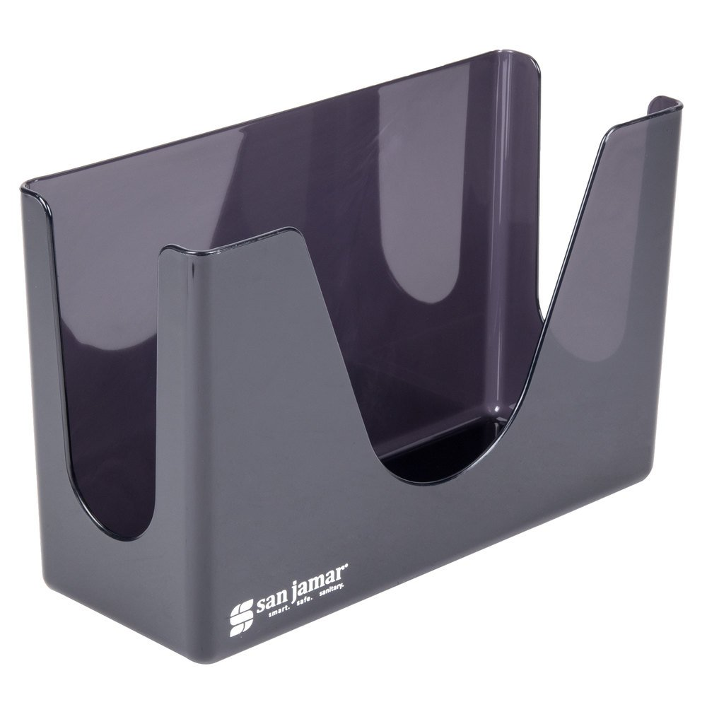 Countertop Paper Towel Dispenser : San Jamar T1720TBK Countertop Towel Dispenser - Black Pearl