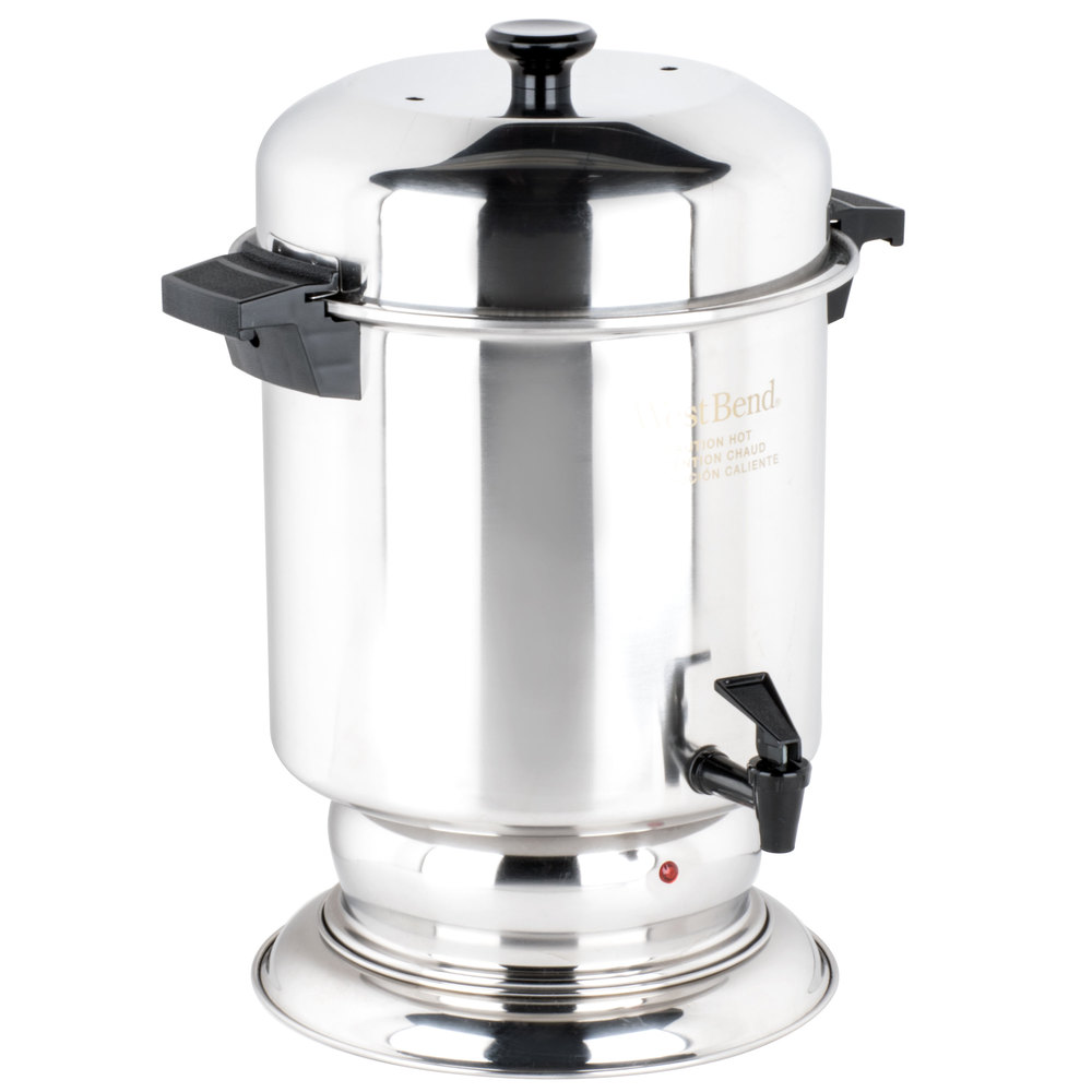 stainless steel coffee urn regalware k1355 55 cup 2 2 gallon main picture · image preview
