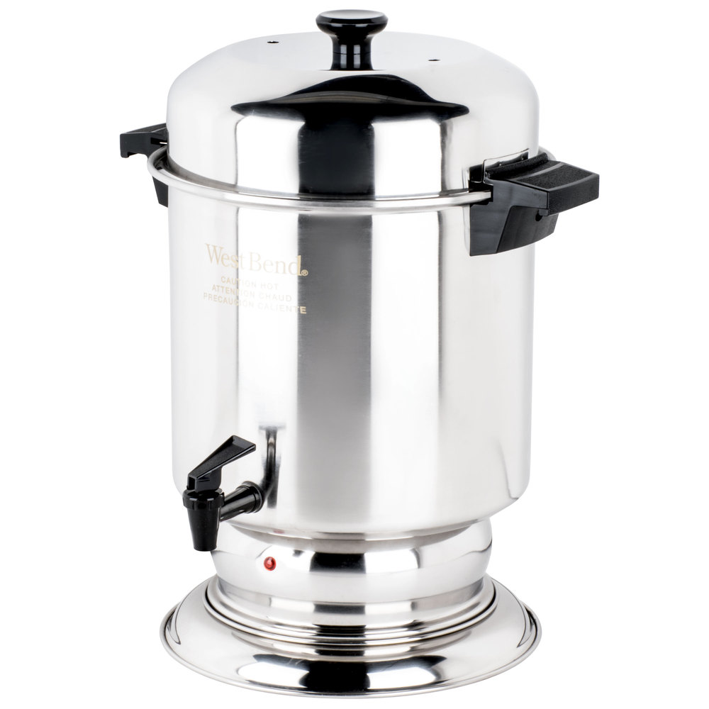 stainless steel coffee urn regalware k1355 55 cup 2 2 gallon main picture · image preview · image preview