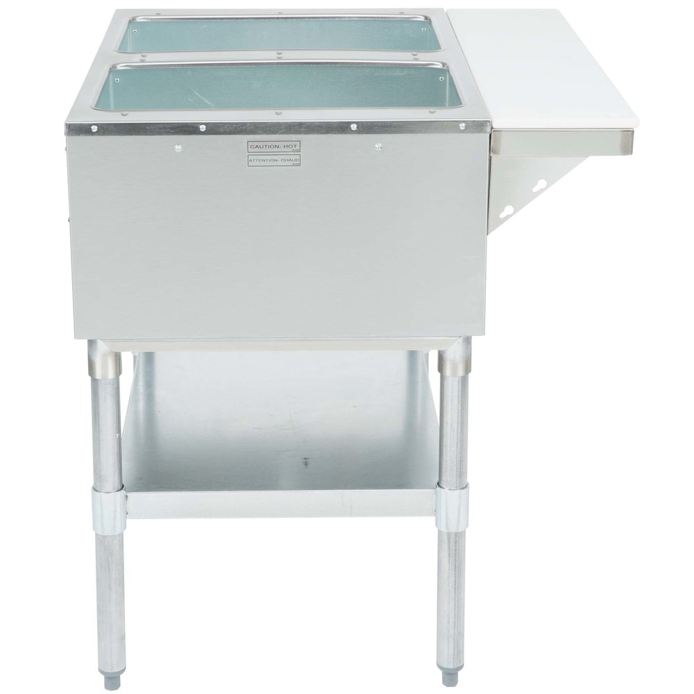 Eagle Group Ht2 Steam Table Two Pan 7000 Btu Open Well