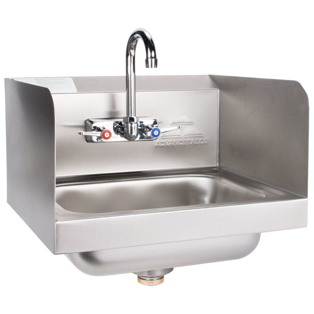 Advance Tabco 7 Ps 66 Hand Sink With Splash Mounted