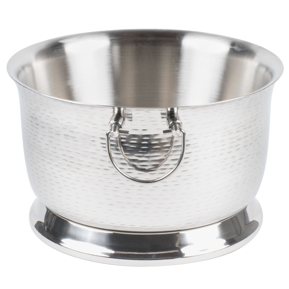 Tablecraft Btb1610 Round Double Wall Stainless Steel