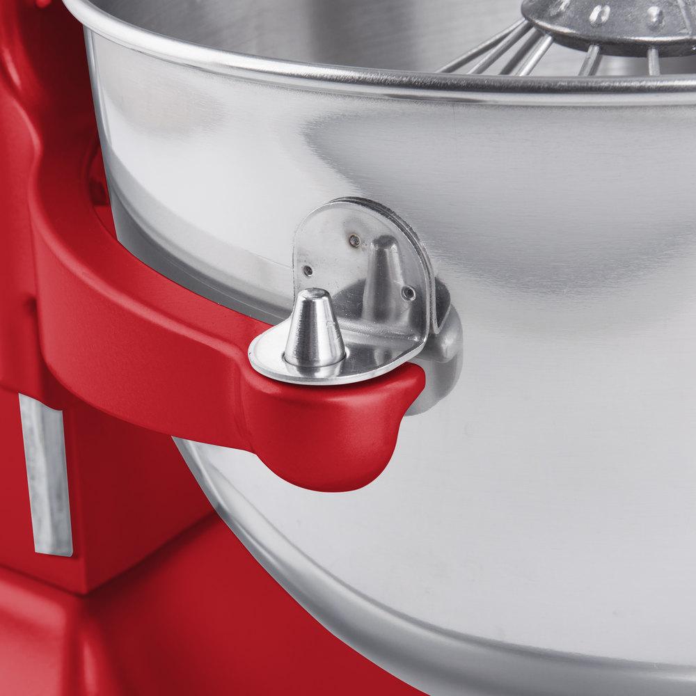 KitchenAid KP26M1XER Empire Red Professional 600 Series 6 Qt ...