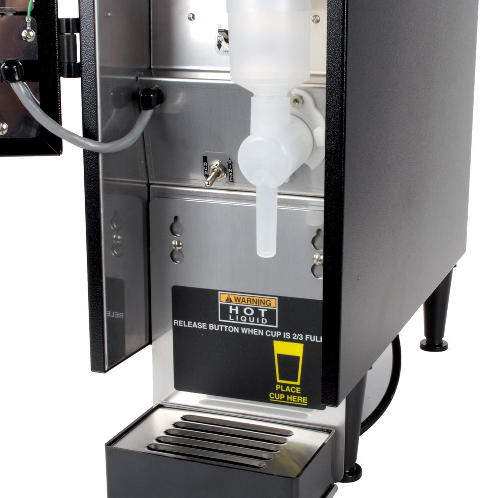 bunn fmd 1 blk fresh mix cappuccino espresso machine hot chocolate dispenser 120v. Black Bedroom Furniture Sets. Home Design Ideas