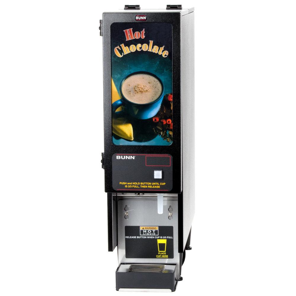 bunn fmd 1 blk fresh mix cappuccino espresso machine hot chocolate dispenser 120v. Black Bedroom Furniture Sets. Home Design Ideas