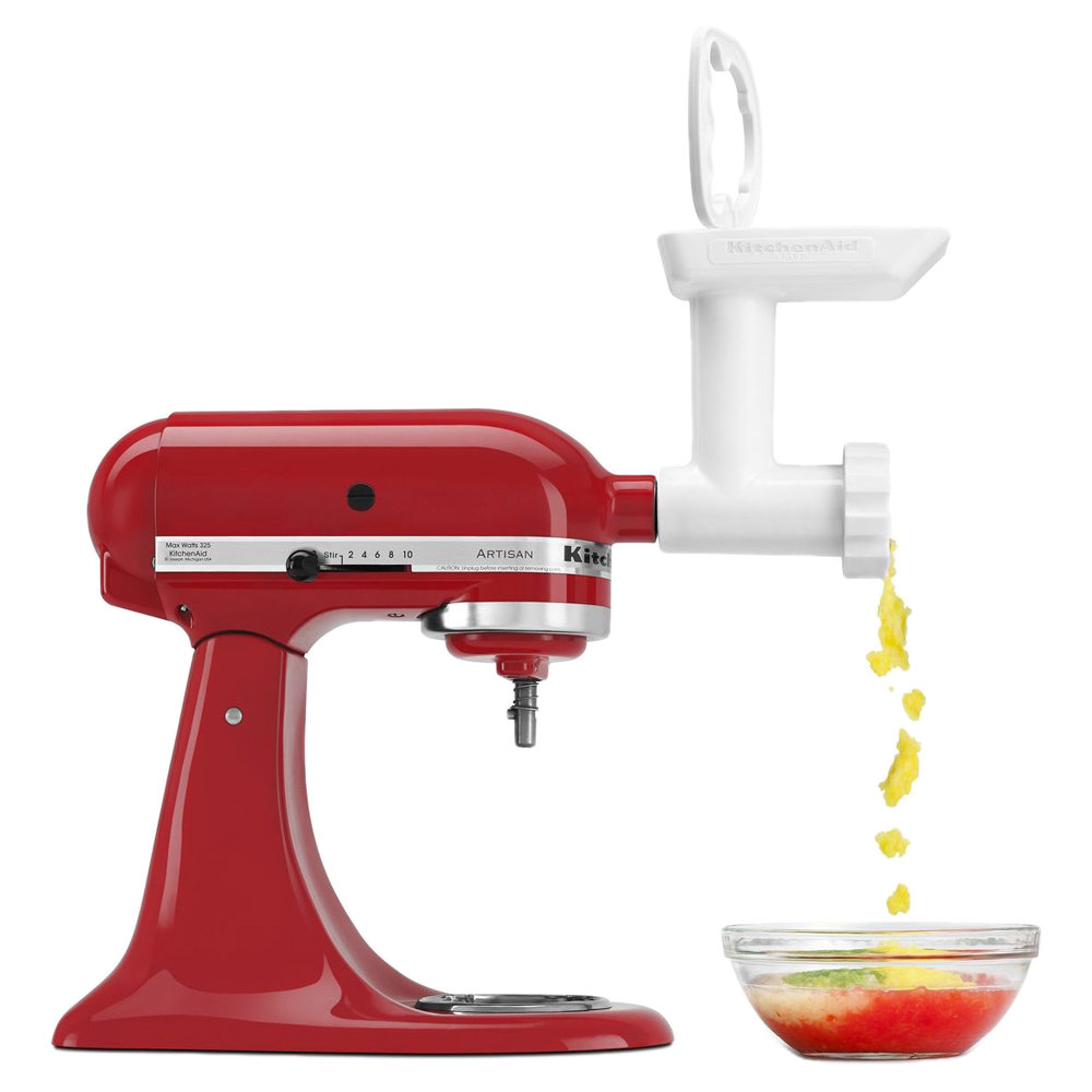 Kitchen Aid Attachments: KitchenAid FGA Food Grinder Attachment For Stand Mixers