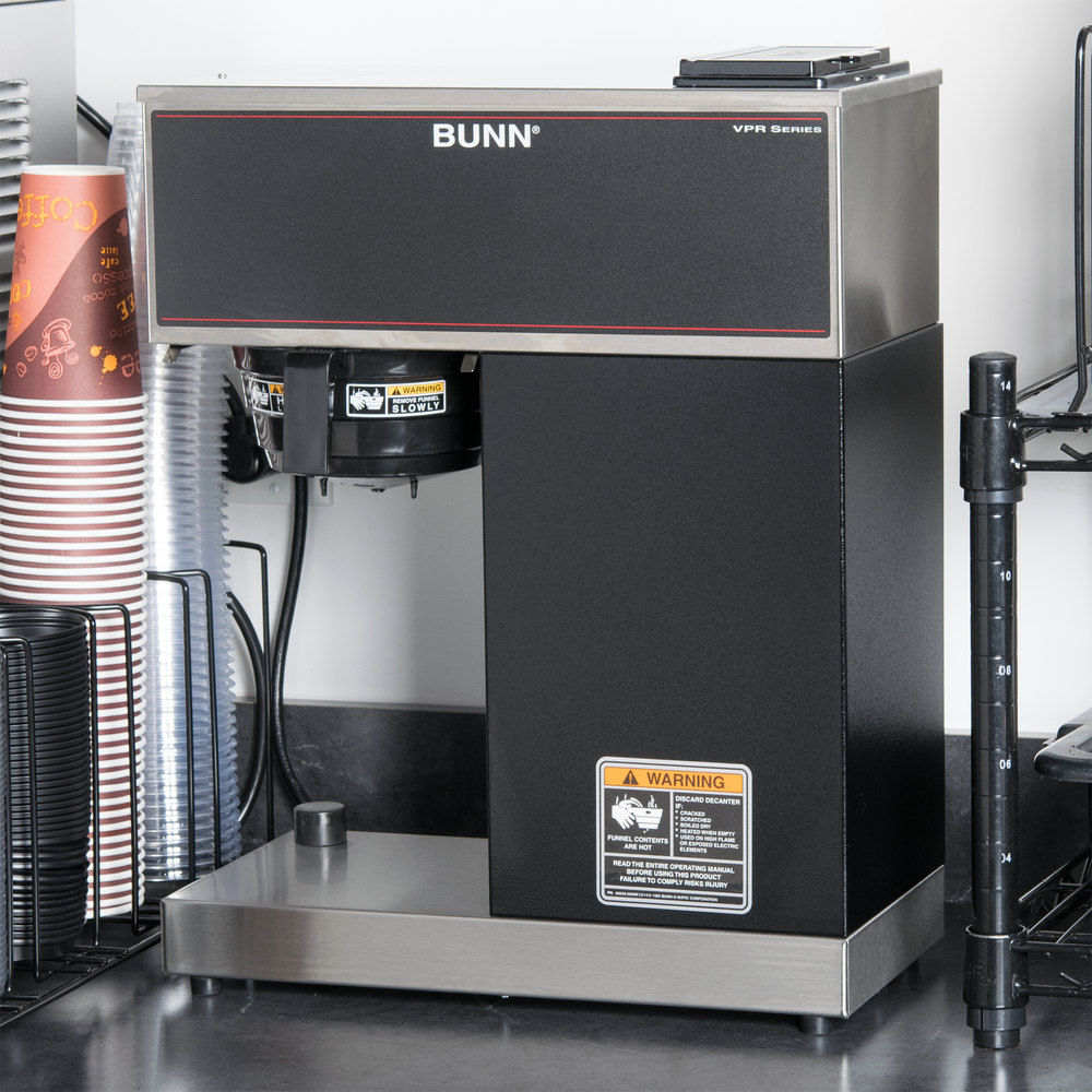 Bunn Coffee Maker Parts Vpr : Bunn 33200.0011 VPR-TC Pourover Thermal Carafe Coffee Brewer - 120V
