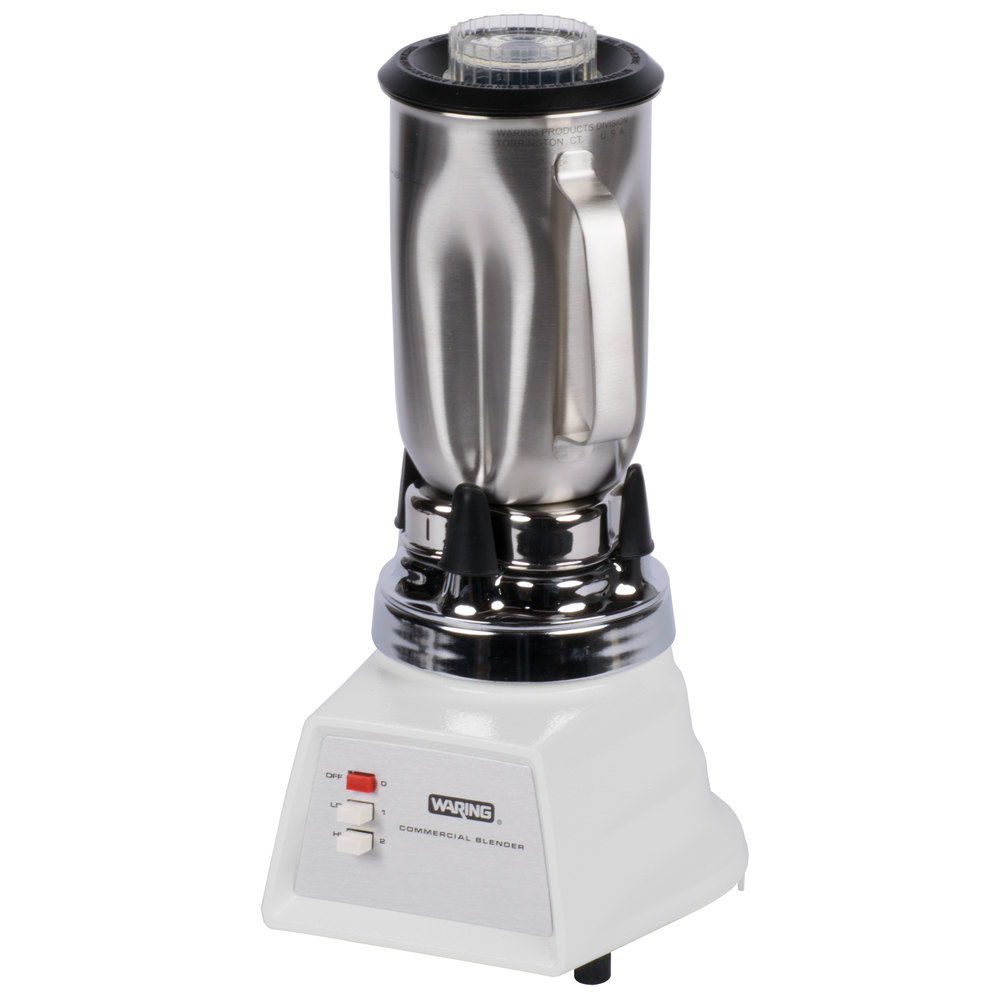 Stainless Steel Blender ~ Waring s two speed blender with oz stainless steel