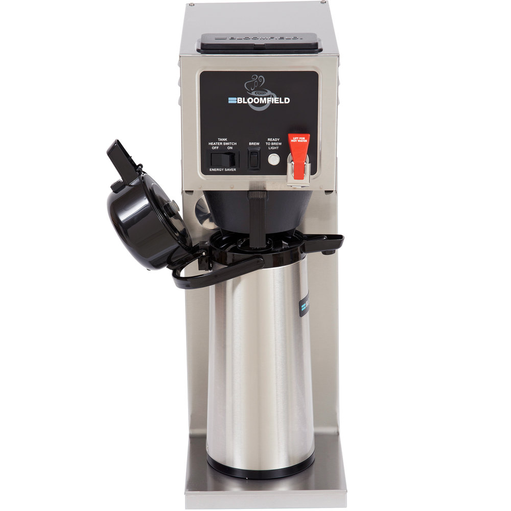 Bloomfield Integrity Coffee Maker Parts : Bloomfield 8773AF Integrity Automatic Airpot Coffee Brewer, 120V; 1500W