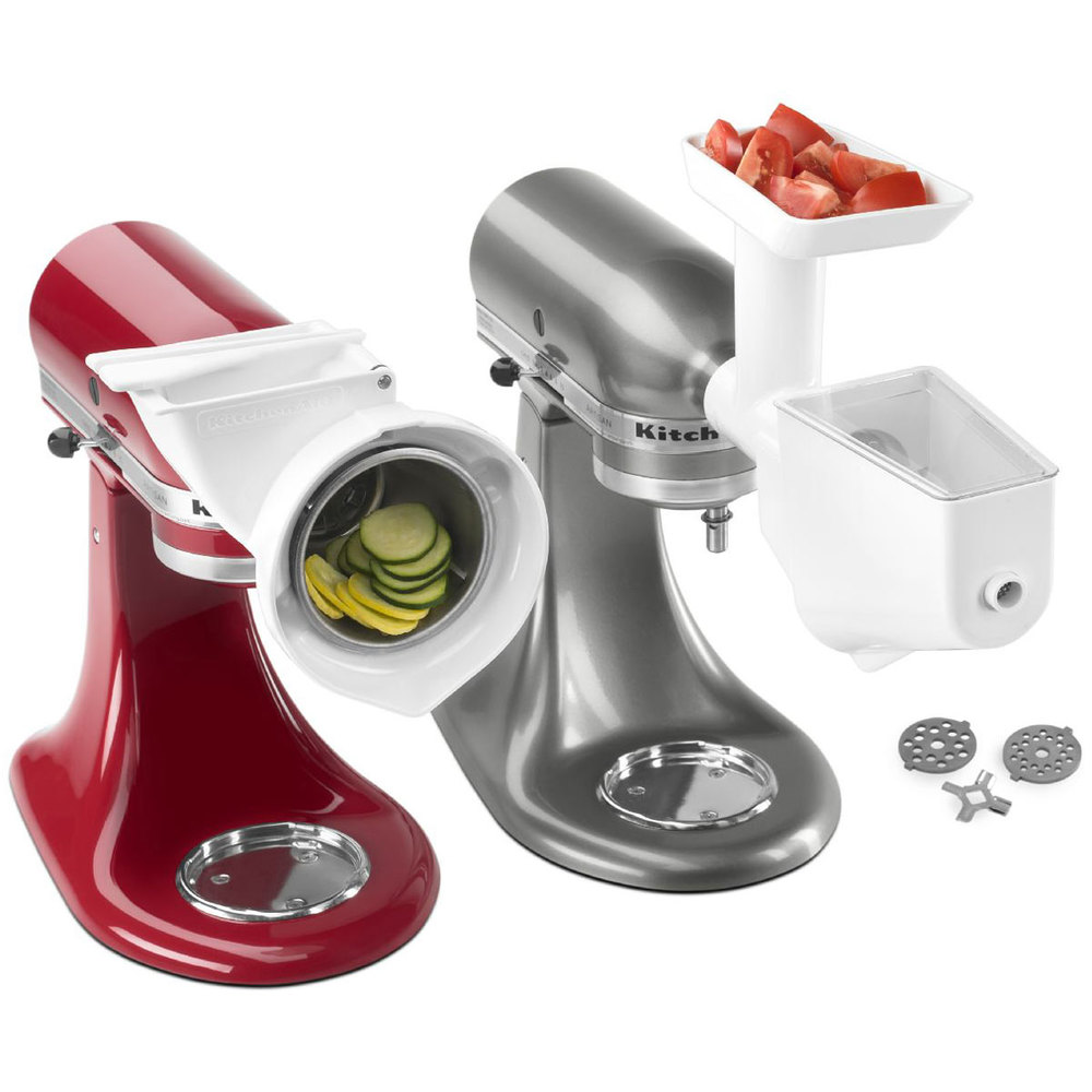 Kitchen Aid Attachments: KitchenAid FPPA Slicer / Shredder Attachment For Stand Mixers