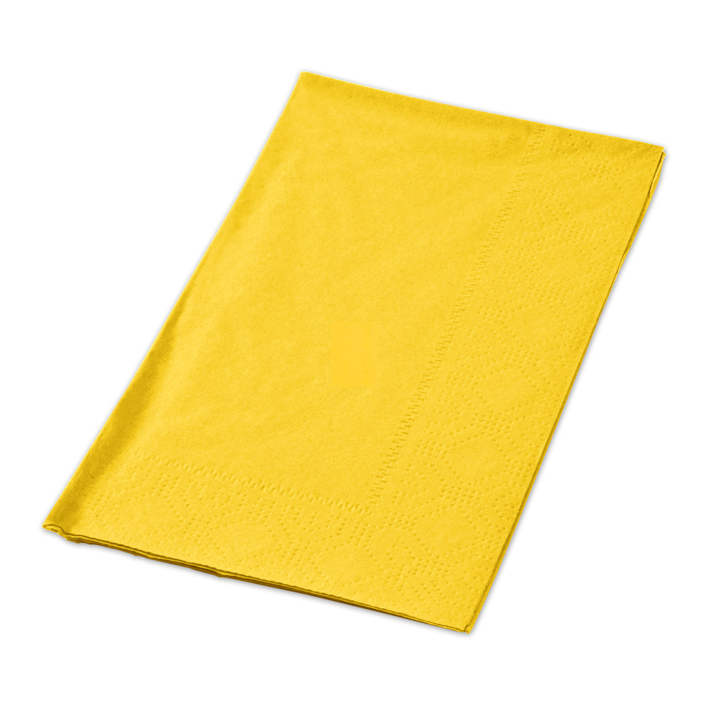 yellow paper napkins Free shipping order online to complete your table with crate & barrel napkins shop paper and cloth napkins for dinner, drinks, appetizers and desserts.