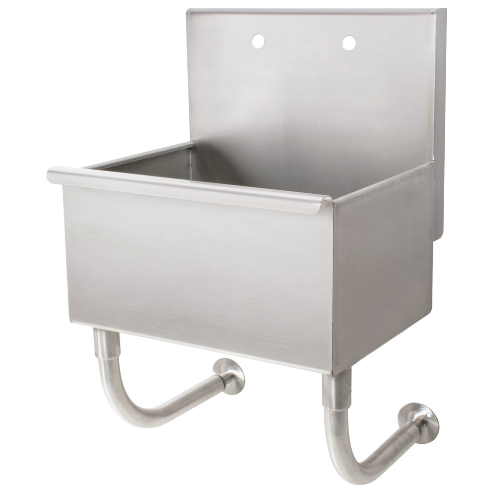 Advance Tabco WSS-14-21 Wall Mounted Utility Sink - 18