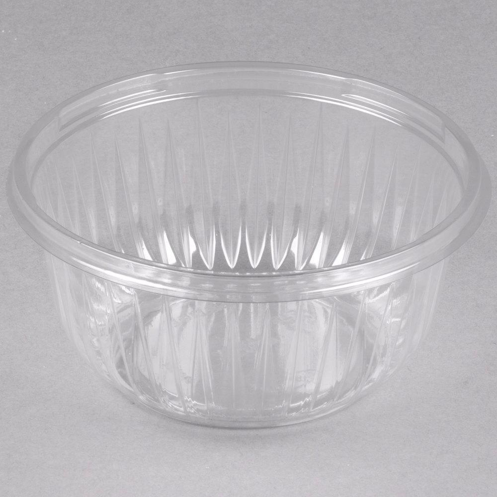 dart solo pet16b presentabowls 16 oz clear plastic bowl 504 case. Black Bedroom Furniture Sets. Home Design Ideas