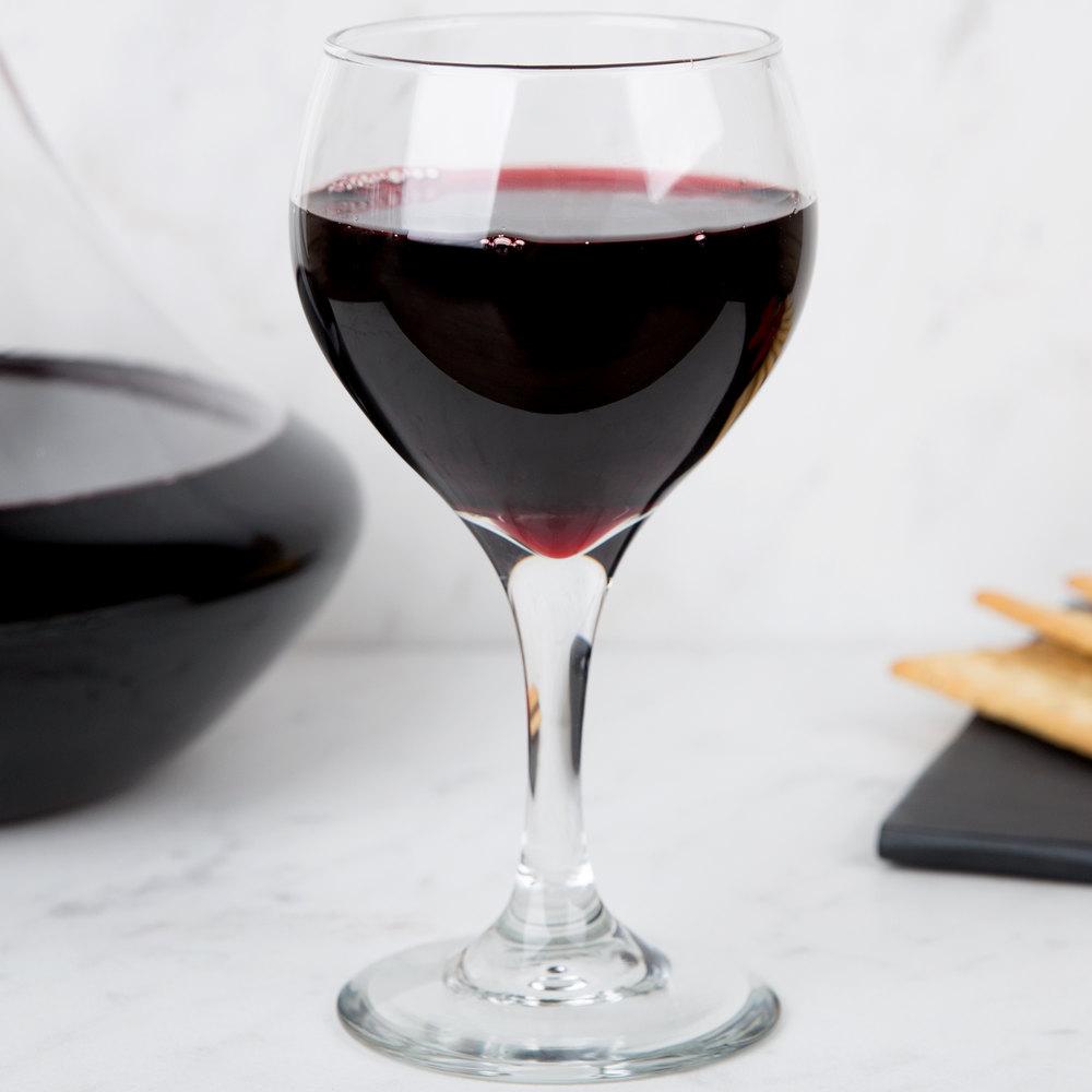 Libbey 3964 Teardrop 8 5 Oz Red Wine Glass 36 Case