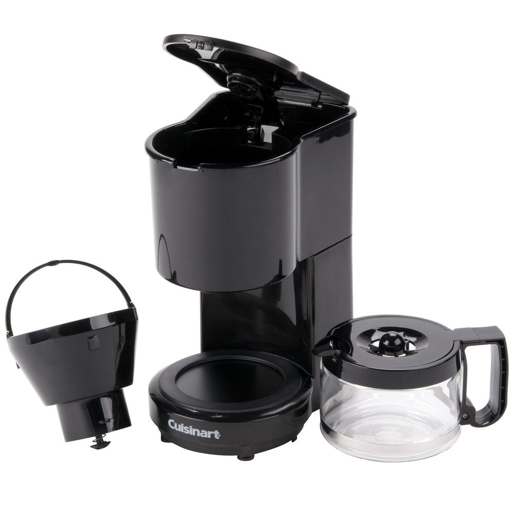 4 Cup Coffee Maker Glass Carafe : Conair Cuisinart WCM04B 4-Cup Coffee Maker Black with Glass Carafe
