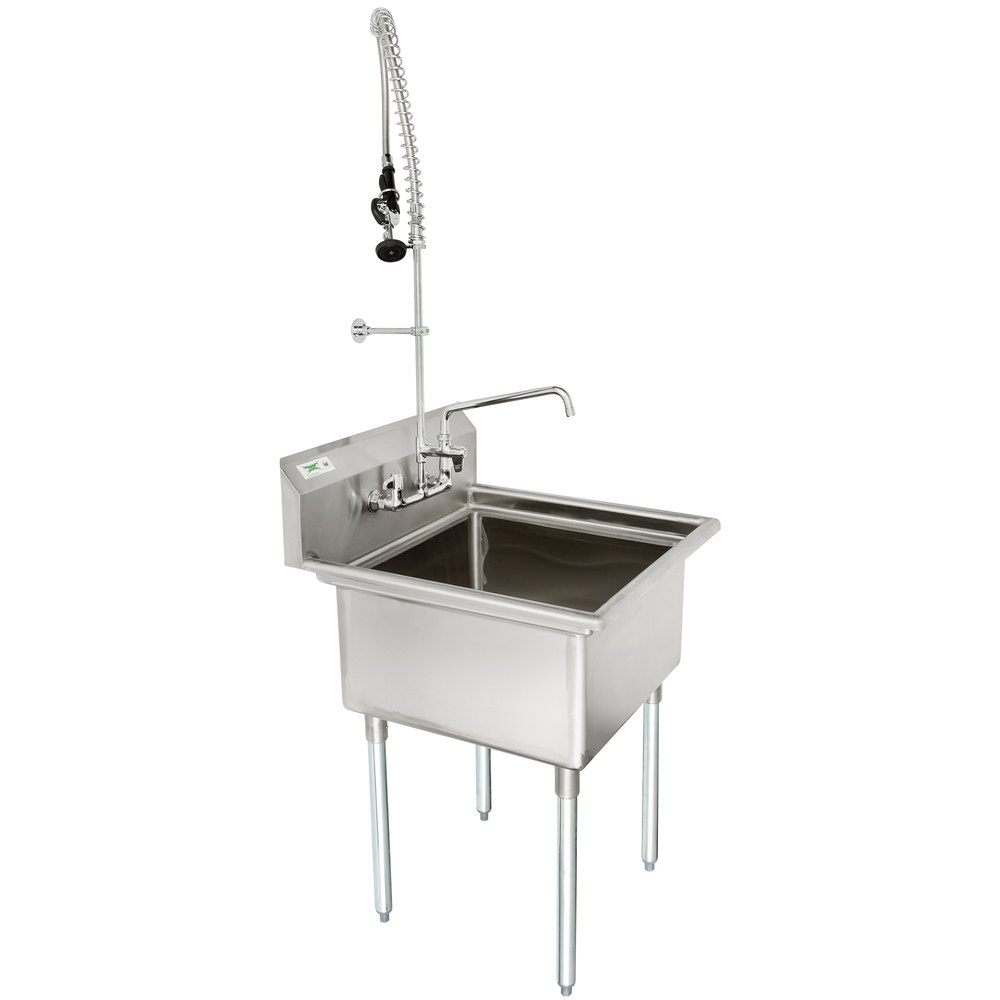 Regency 28 16 Gauge Stainless Steel One Compartment