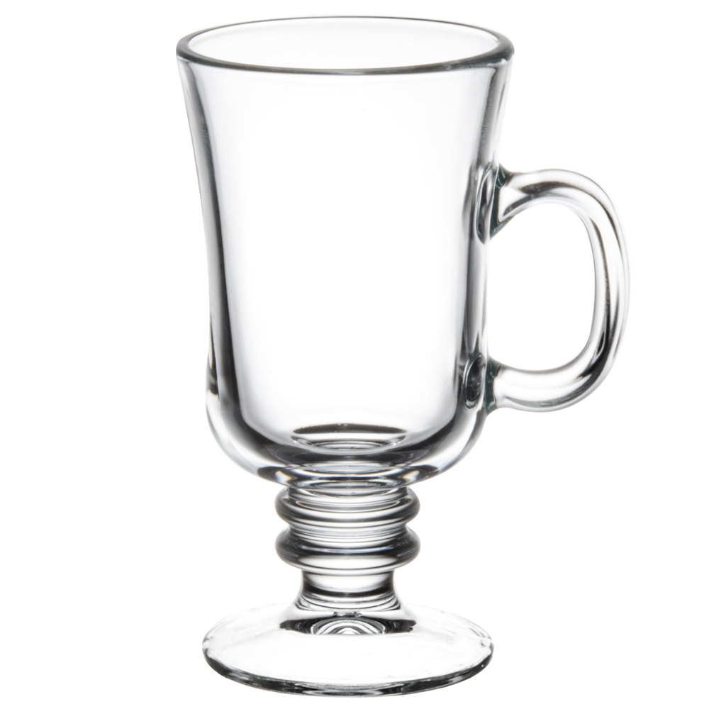 Libbey 5295 8 5 Oz Irish Glass Coffee Mug 24 Case