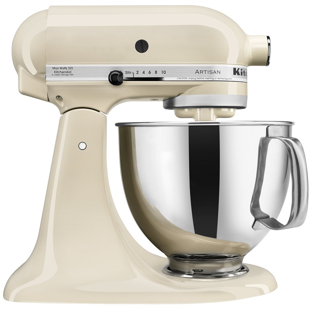 Countertop Mixer : ... KSM150PSAC Almond Cream Artisan Series 5 Qt. Countertop Mixer