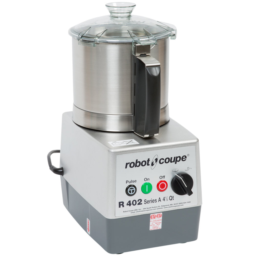 robot coupe r402 combination continuous feed food. Black Bedroom Furniture Sets. Home Design Ideas