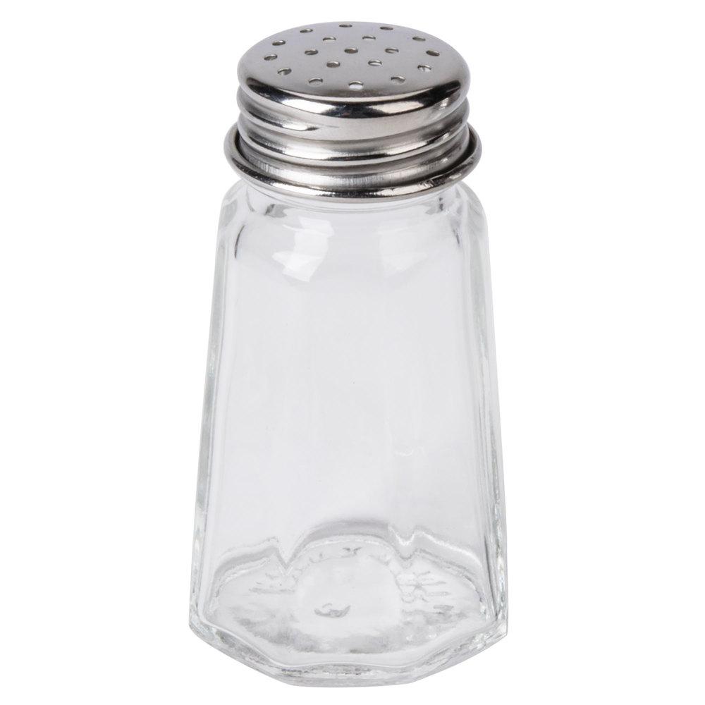 1 Oz Flat Paneled Salt And Pepper Shaker 12 Pack