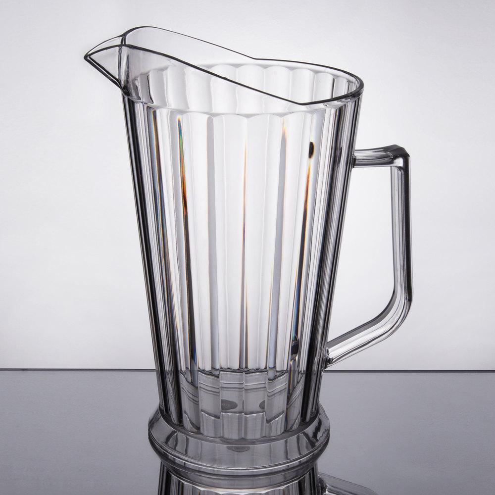choice 60 oz polycarbonate beer pitcher. Black Bedroom Furniture Sets. Home Design Ideas