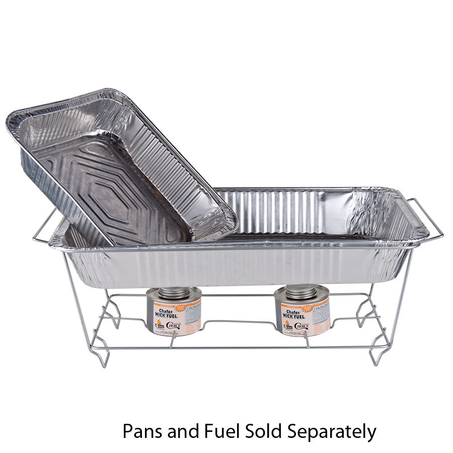 Chrome Wire Chafer Stand For Full Size Disposable Pans