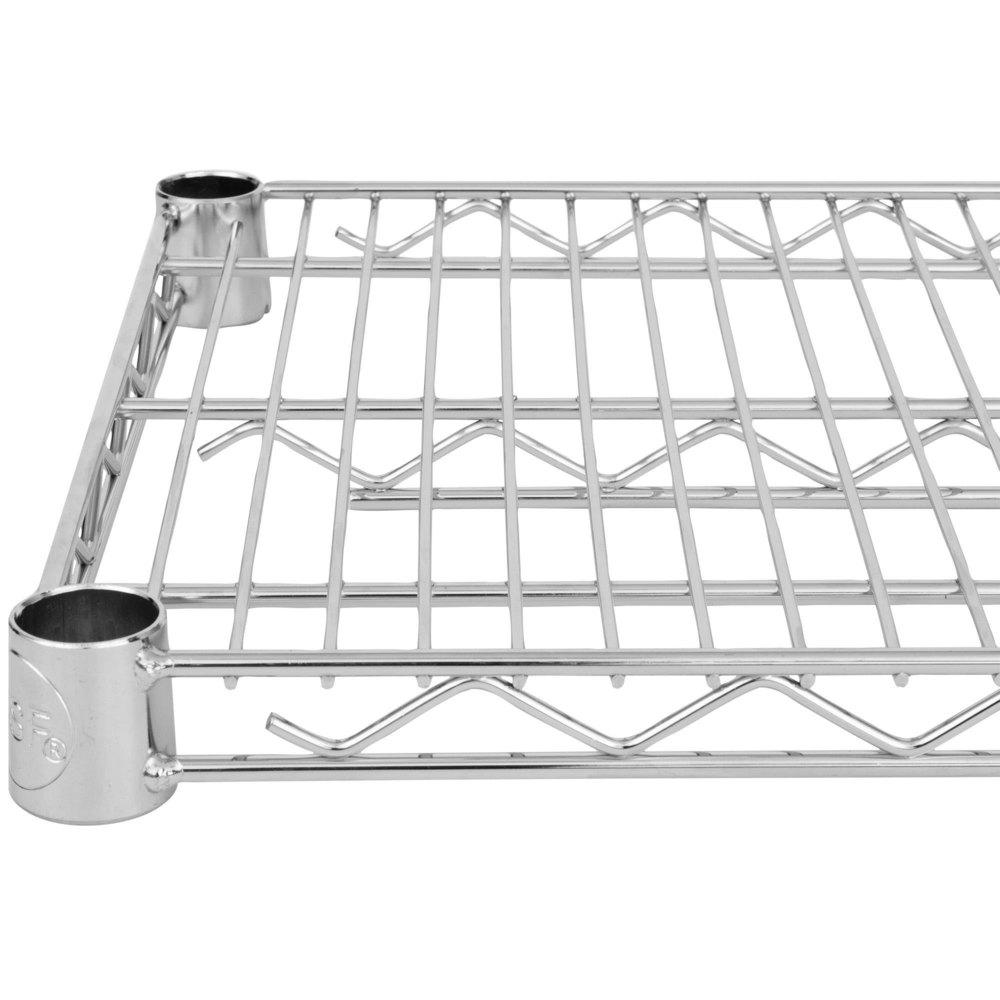 24 inch deep shelves - Regency 24 Inch X 60 Inch Nsf Chrome Wire Shelf