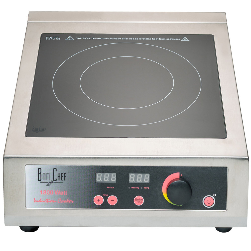 Countertop Induction Stove : Bon Chef 12082 Countertop Induction Range - 110V, 1800W
