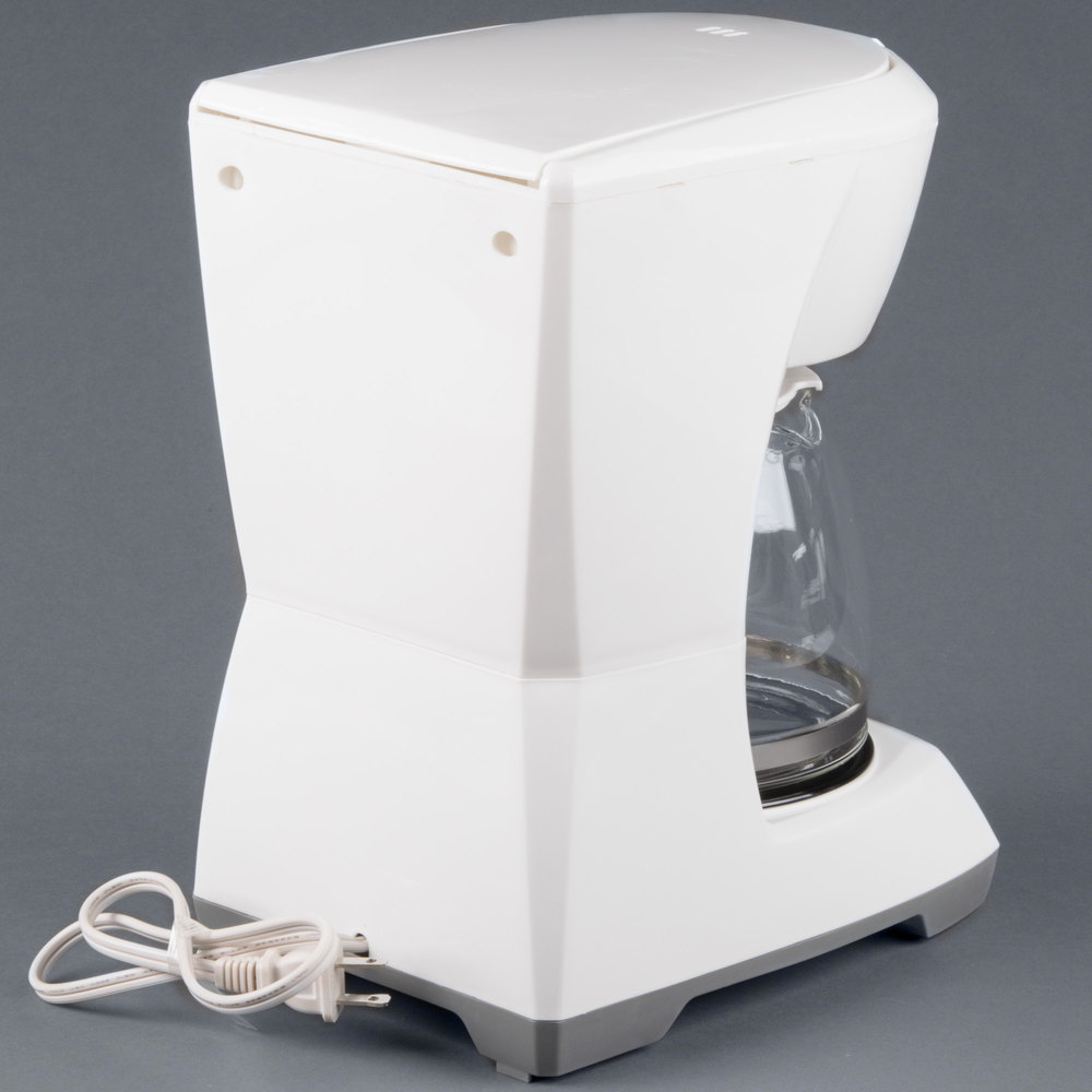 proctor silex 43601 white 12 cup coffee maker. Black Bedroom Furniture Sets. Home Design Ideas