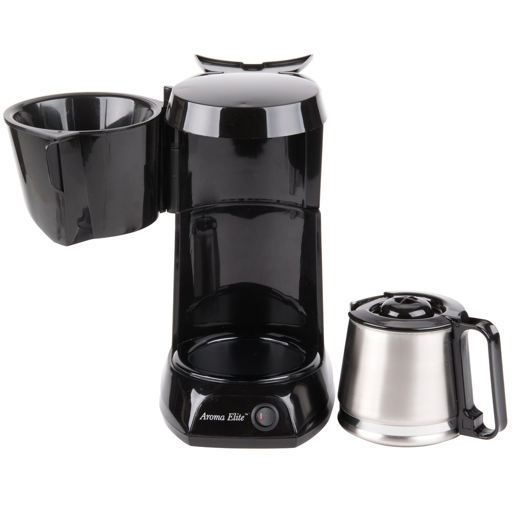4 Cup Coffee Maker Auto Shut Off : Hamilton Beach HDC500CS 4 Cup Coffee Maker with Auto Shut Off and Stainless Steel Carafe - 120V ...