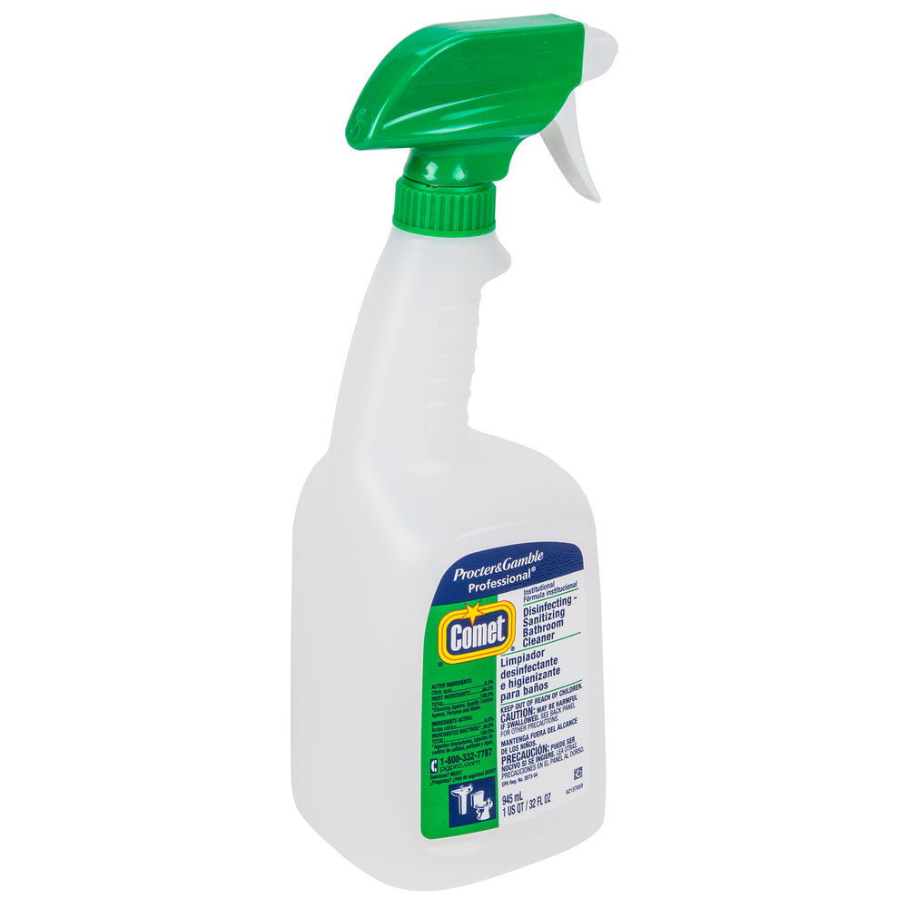 Comet Bathroom Cleaner Spray 28 Images P G 22569 Comet Disinfecting Bathroom Cleaner 32 Oz