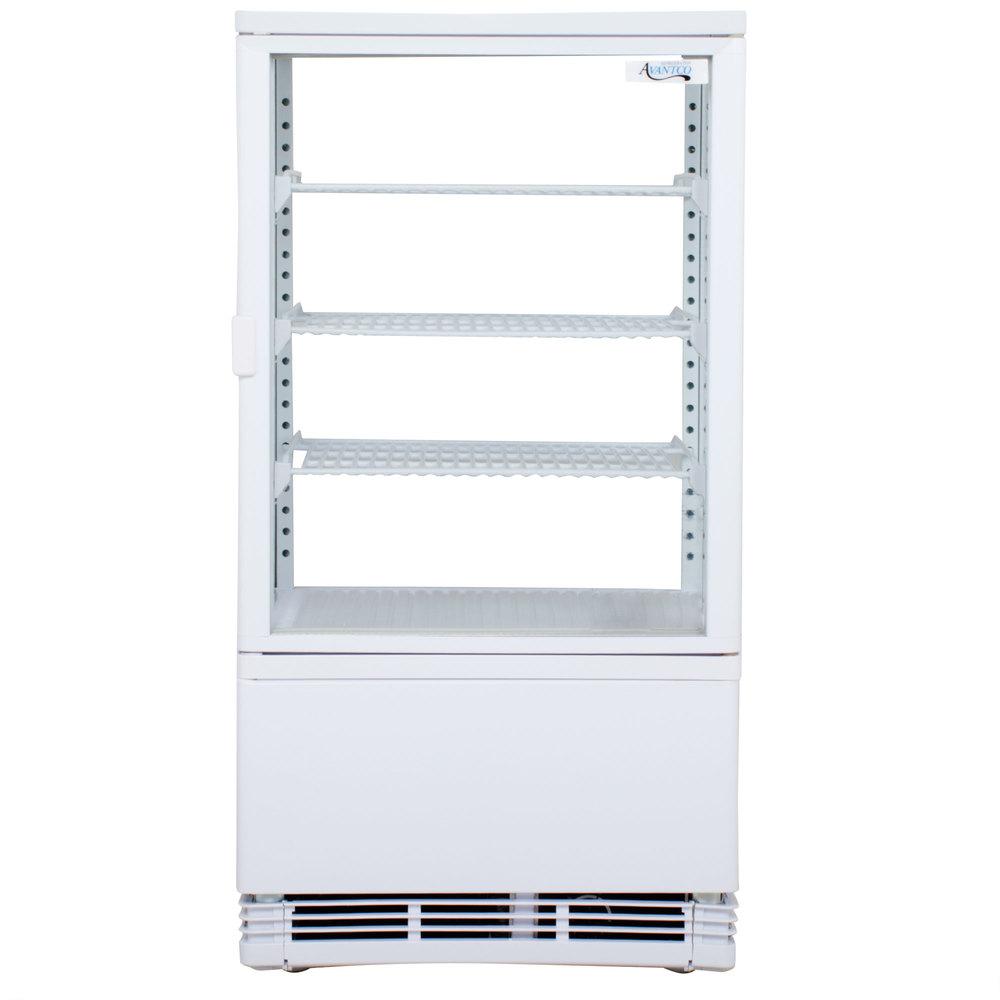 Display Refrigerator Avantco FSG-3 Countertop Display Refrigerator ...