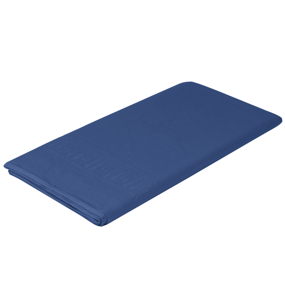Creative converting 710242b 54 x 108 navy blue tissue for 1 case of table paper