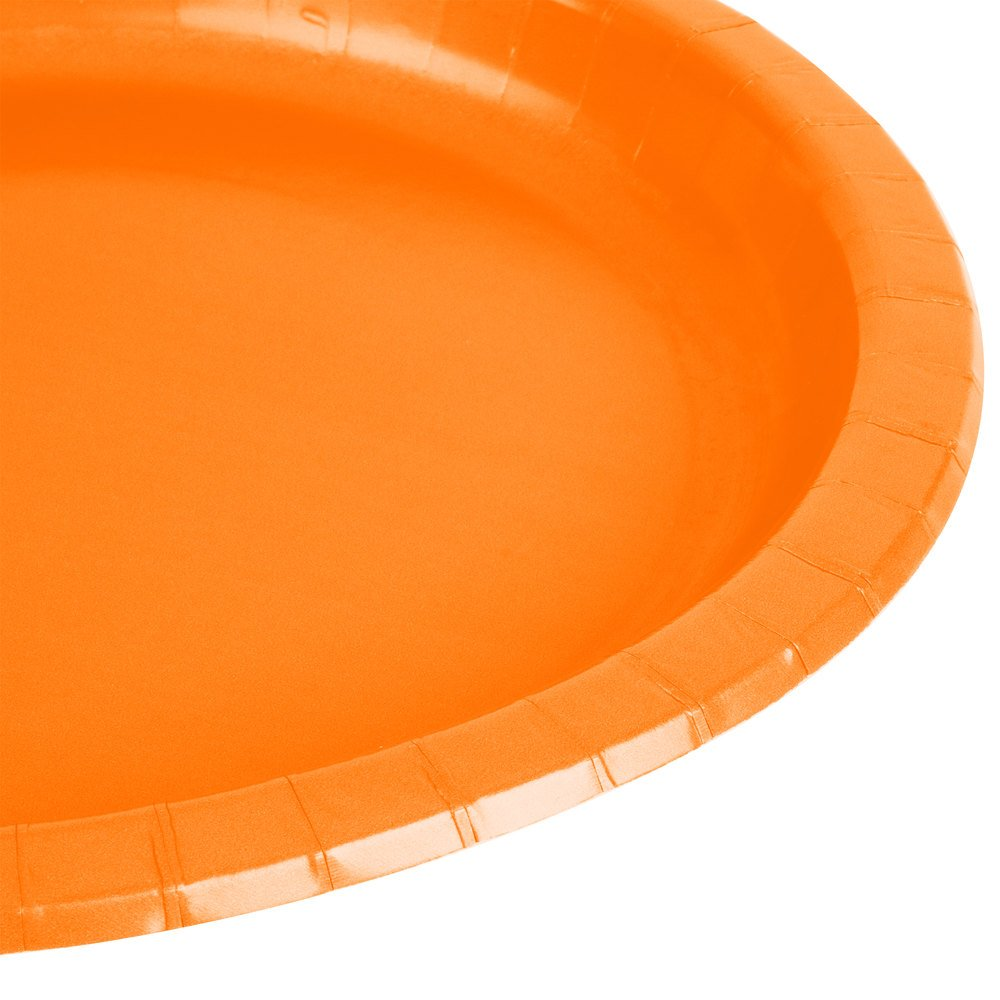 orange paper plates Add some energy to your party with our plain coloured orange party supplies bring the colour with our bold tableware and decorations, and brighten up any event.
