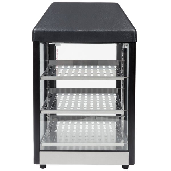 Star 15MC Countertop Hot Food Display / Merchandiser with Three Shelves - 650W