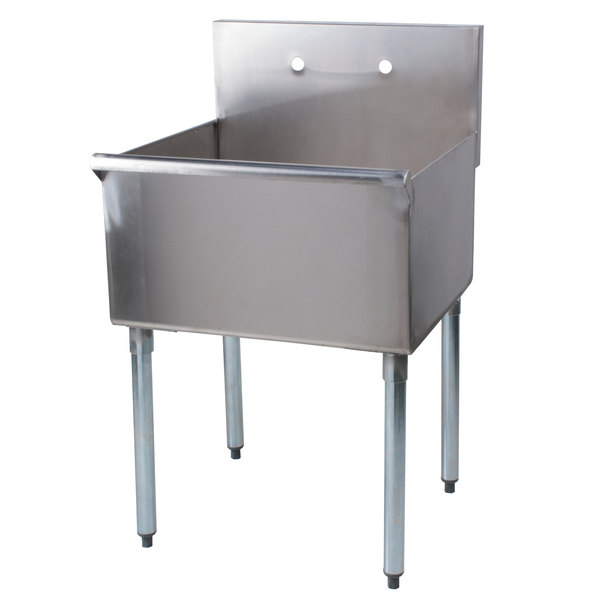 ... Steel Commercial Sink - 24 inch x 24 inch x 14 inch Compartment