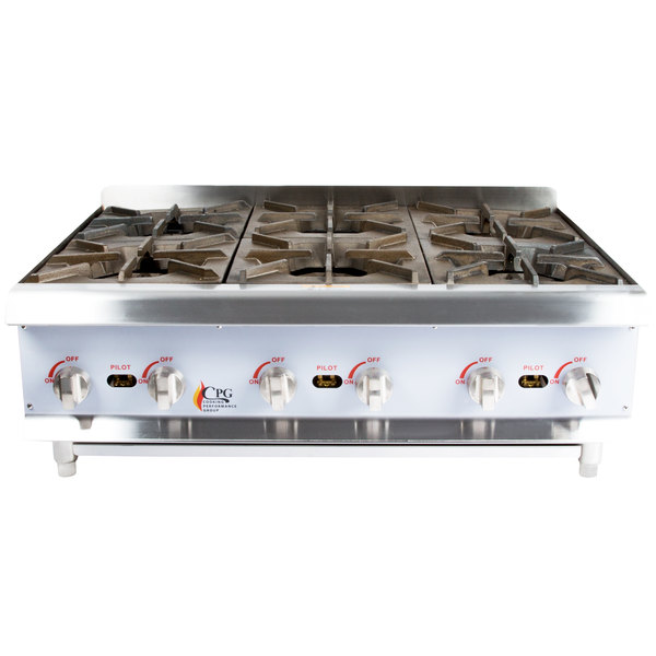 Counter Top Gas Range Gas Countertop Range
