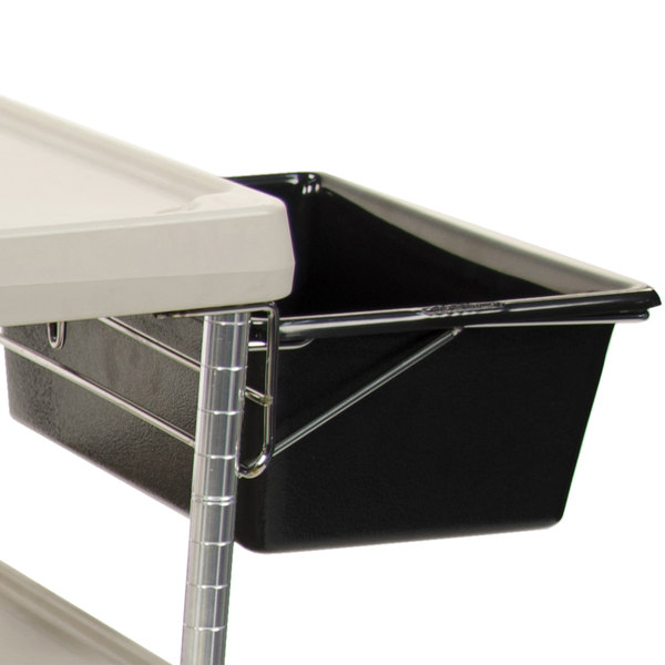 Metro MYUB1 Utility Bin with Holder for myCart MY1627 Carts