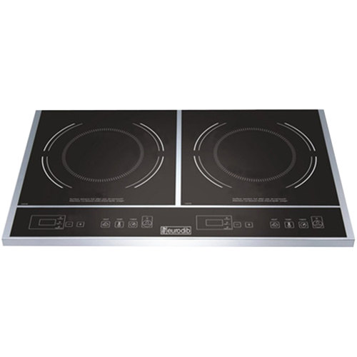 Eurodib S2F1 Double Countertop Induction Range - 120V, 1800W