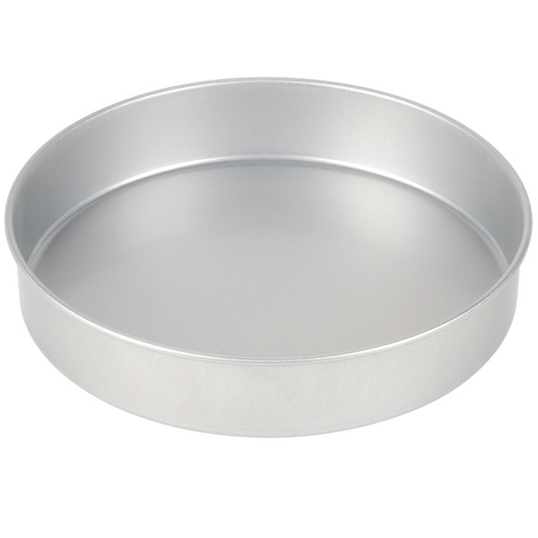 10 inch x 2 inch Round Cake Pan Coated