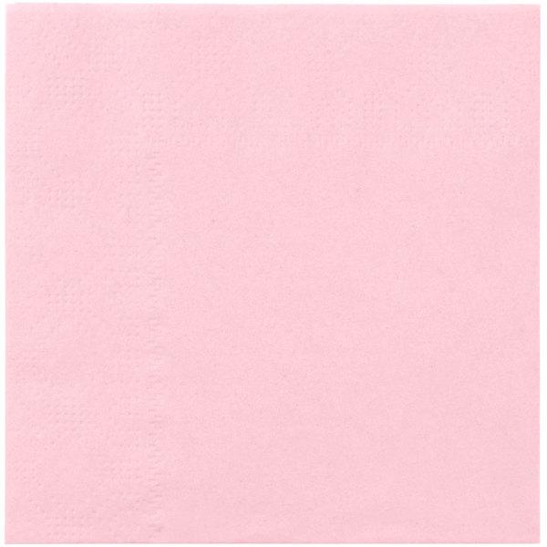 Hoffmaster 180327 Pink Beverage / Cocktail Napkin - 1000 / Case