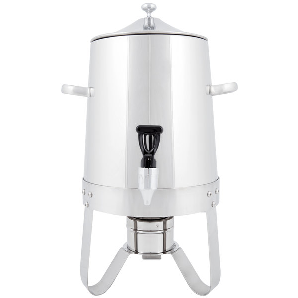 Choice Stainless Steel Coffee Chafer Urn - 3 Gallon