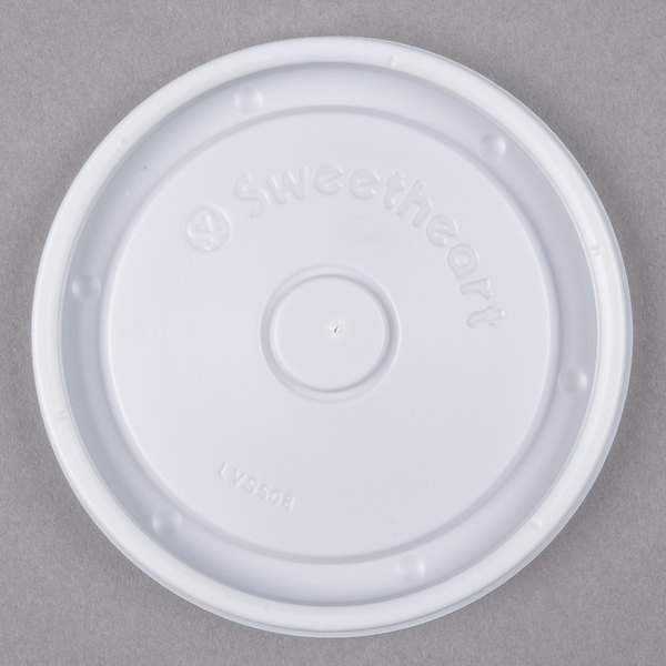 Dart Solo LVS508-0007 Bare 8 oz. Container Lid  - 2000/Case