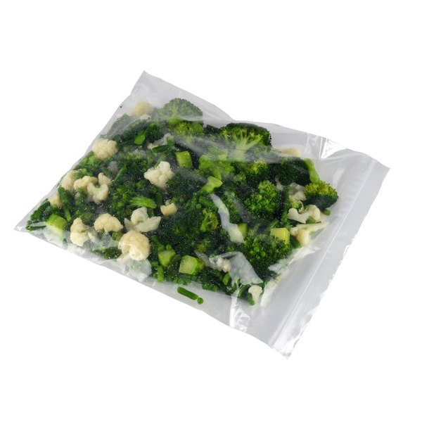 13 inch x 15 inch Heavy Weight 2 Gallon Seal Top Freezer Bag - 100/Pack