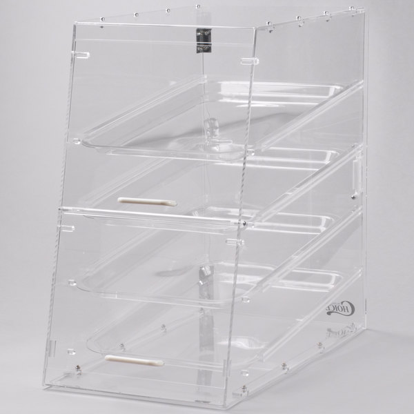 Choice 4 Tray Bakery Display Case with Front and Rear Doors