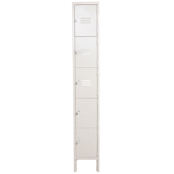 Five Tier Beige Locker