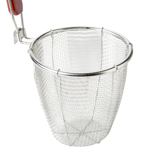 Quot stainless steel pasta strainer blanching